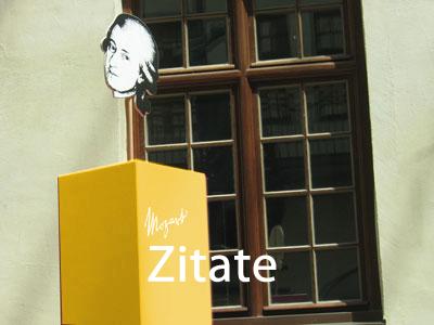 Mozart Zitate