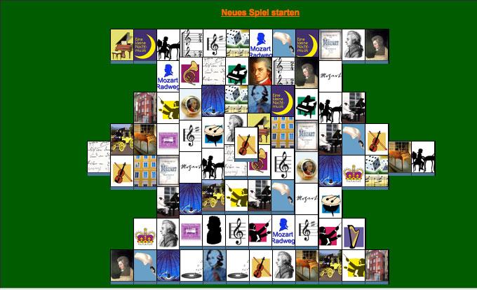 Mozart-Mahjongspiel